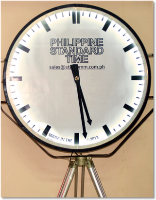 Syncright Philippine Standard Time Clock Sizes